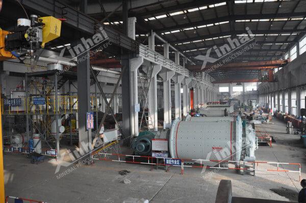 球磨机生产厂区