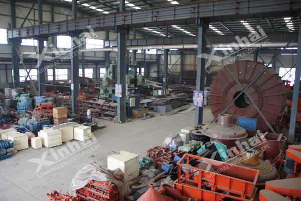 选矿设备生产厂区