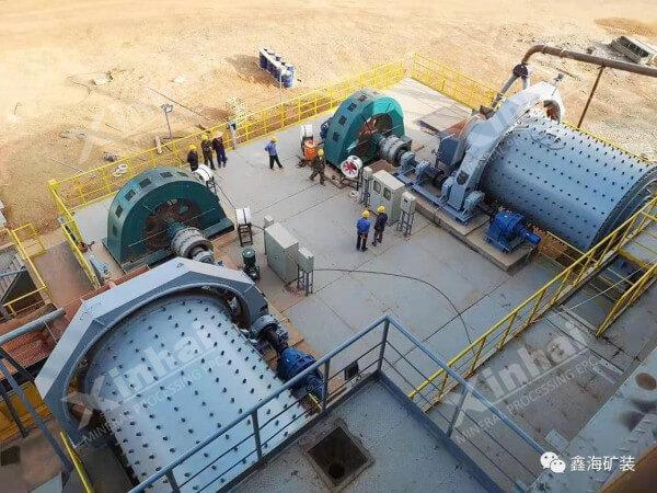 选矿厂球磨机的工作原理和性能特点