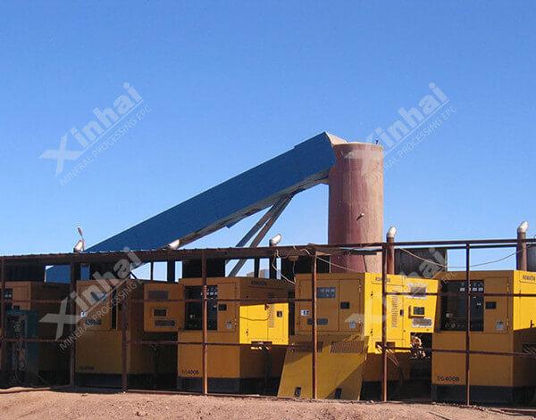 溢流型球磨机在蒙古金矿项目中的应用