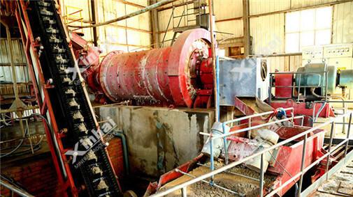 湿式棒磨机在150t/d钨矿项目中的应用