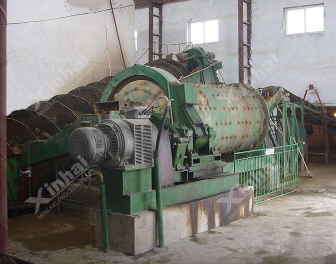 格子型球磨机在700t/d萤石矿选矿项目中的应用